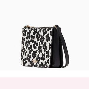 NWT Kate Spade Darcy Black multi Crossbody Bag